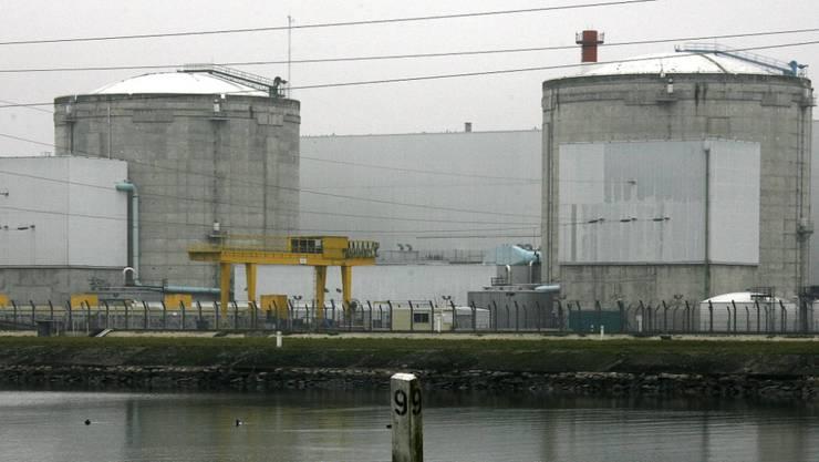 Das Atomkraftwerk Fessenheim nahe der Schweizer Grenze ist seit langem umstritten.