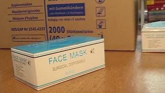 Die Zürcher Kantonspolizei hat erneut einen Schutzmasken-Wucher aufgedeckt. (Archivbild)