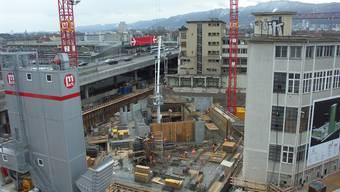 Höchstes Haus der Schweiz beginnt zu wachsen