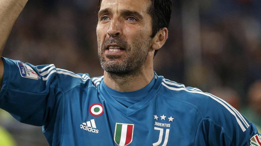 Gianluigi Buffon macht bei Juventus Turin zum Ende dieser Saison Schluss