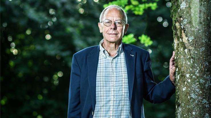 Josef Sachs im Park vor der Psychiatrischen Klinik Königsfelden. Über Gutachten sagt er: «Ein Psychiater ist kein Prophet.»