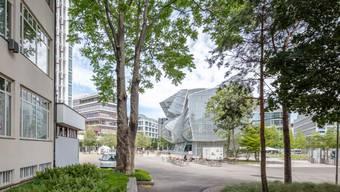Aussenansicht Switzerland Innovation Park Basel Area auf dem Novartis Campus