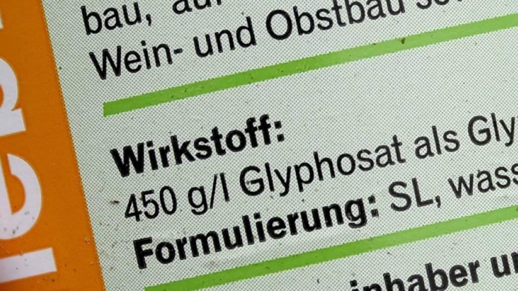 Im anstehenden Schadenersatz-Verfahren um den Unkrautvernichter Glyphosat in den USA hat sich der deutsche Pharmakonzern Bayer einen Zwischensieg errungen: Das Verfahren wird in zwei Phasen aufgespalten. (Archiv)