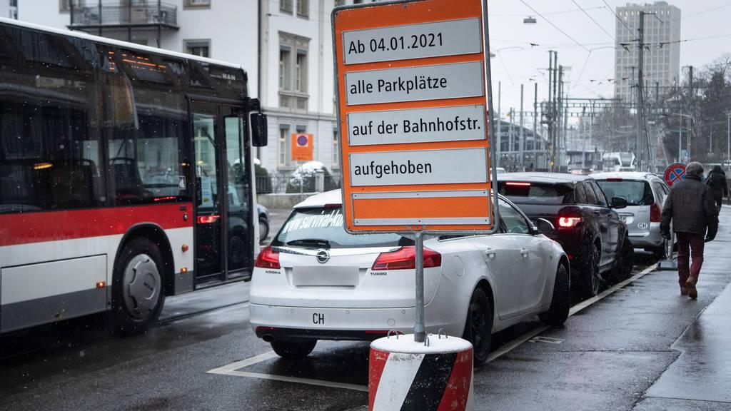 Die Parkplätze sind nicht entscheidend