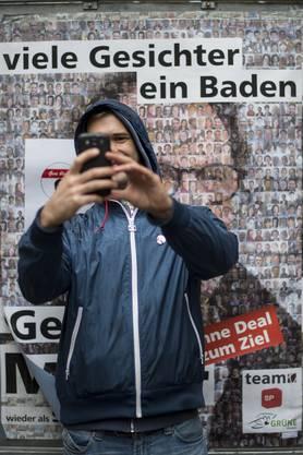 Ein Selfie für Geri Müller