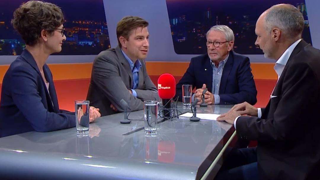 Wie SVP-Präsident Thomas Burgherr auf die Kritik reagiert und was der Parteiaustritt für den Aargau und Franziska Roth selber bedeutet, im TalkTäglich.
