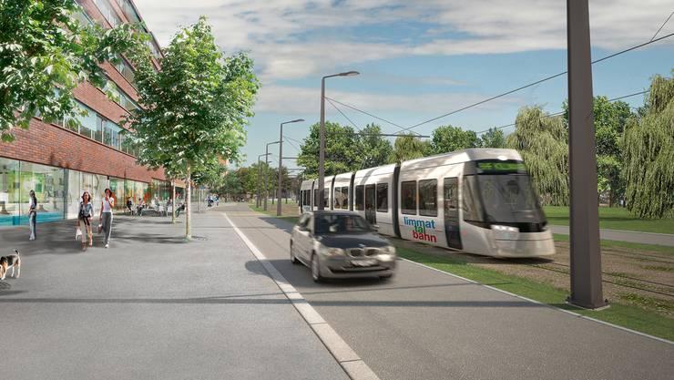Im Bereich Verkehr stützt sich der regionale Richtplan stark auf das Agglomerationsprogramm der zweiten Generation. Dabei soll der Anteil des öffentlichen Verkehrs deutlich steigen. Ganz zentral dafür ist die Limmattalbahn.