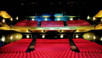 Bei vielen Vorführungen bleibt der Balkon des Musical Theaters geschlossen.