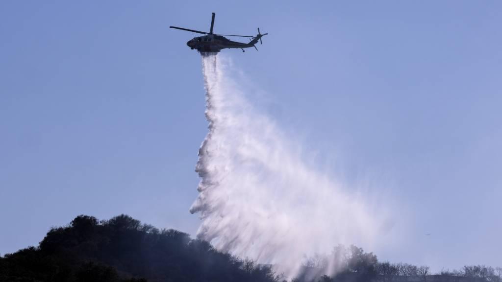 Waldbrände an der US-Westküste verschleiern den Himmel in New York