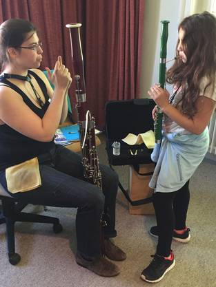 Auch das Fagott - ein selten gehörtes Holzblasinstrument - kann am 20. Mai ausprobiert und entdeckt werden.