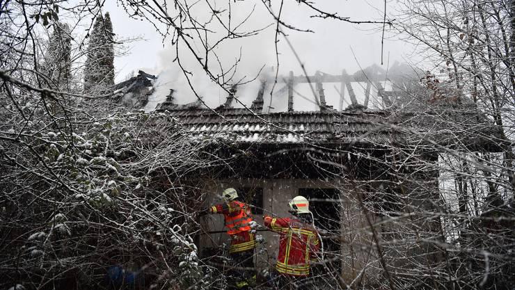 Brand an der Schlachthausstrasse in Grenchen vom 28. Januar 2019