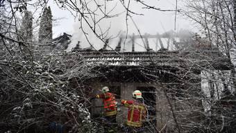 Brand an der Schlachthausstrasse in Grenchen