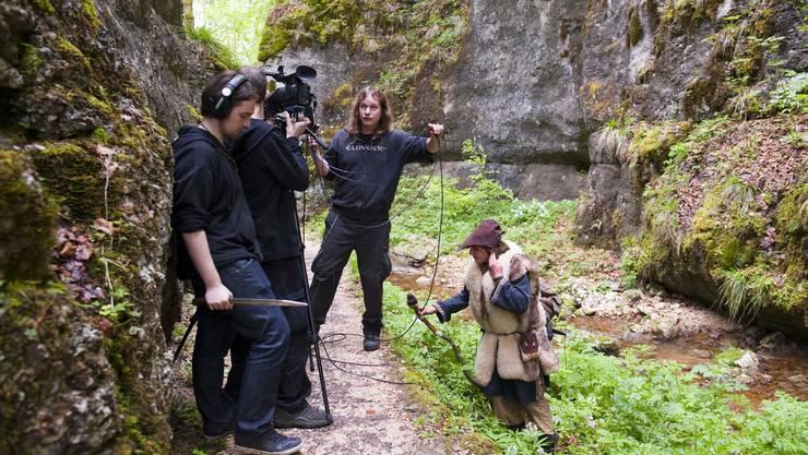 Viele Szenen finden in der Natur statt.