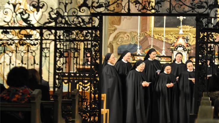 Die Ordensschwestern haben vor zwei Jahren begonnen, neue Lieder zu Schriften ihrer verstorbenen Mitschwester einzuüben.