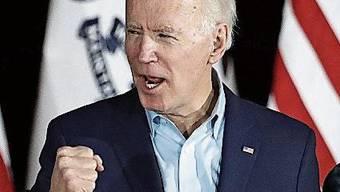 Seine letzte Chance ist South Carolina: Joe Biden.