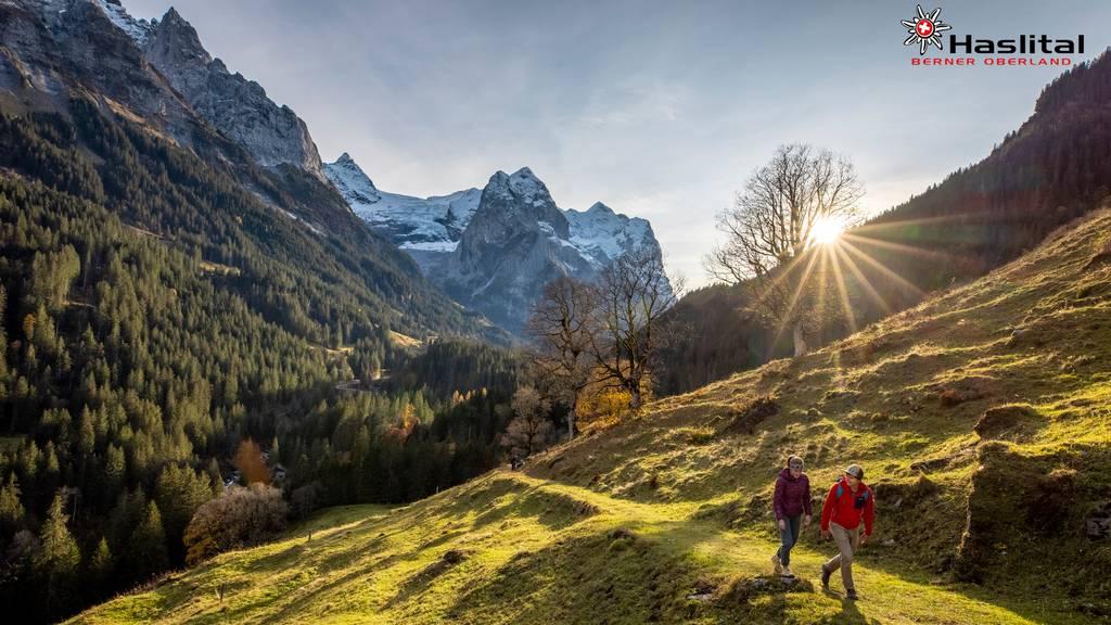 Gewinne eine Woche Ferien im Haslital im Wert von über 1'700 Franken