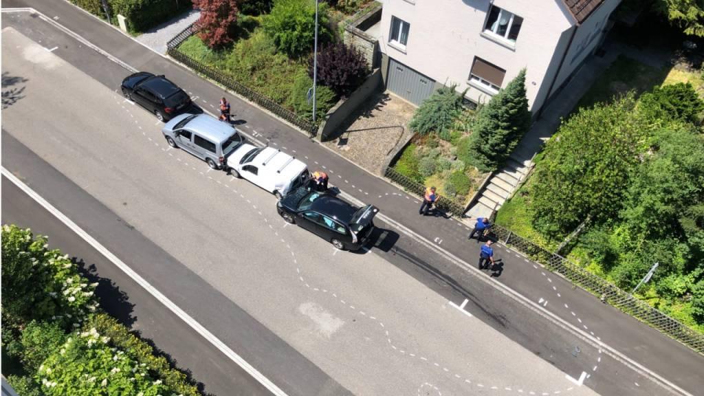 Zwei Verletzte nach Irrfahrt in St. Gallen
