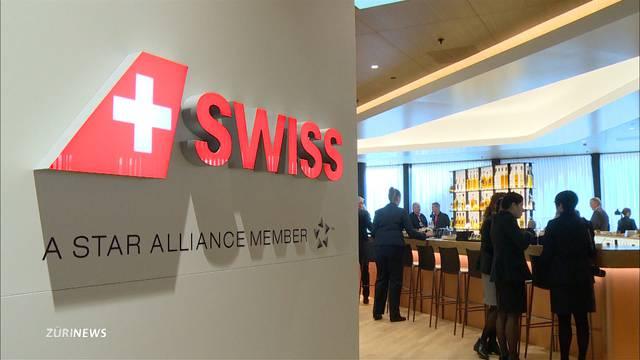So sieht die neue First Class Lounge der Swiss aus