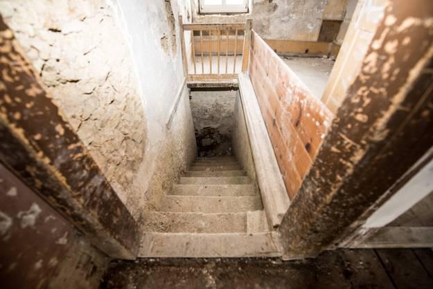 Der Ostteil des Kurhauses Weissenstein wird abgerissen