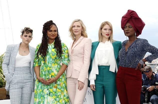 Powerfrauen in der Jury: Kristen Stewart, Ava DuVernay, Cate Blanchett, Léa Seydoux und Khadja Nin.