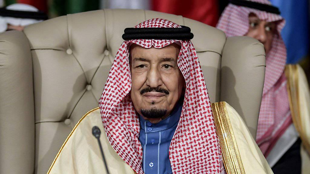 Will die Länder in seiner Region im Konflikt mit dem Iran um sich scharen: der saudi-arabische König Salman. (Archivbild)