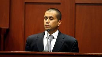 Der Angeklagte George Zimmerman vor Gericht in Sanford, Florida