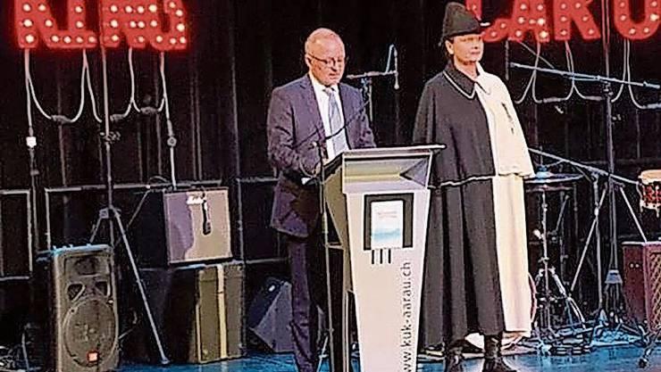 Hanspeter Hilfiker am Mittwoch im KuK.