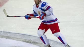 Ilja Kowaltschuk führt SKA St. Petersburg zum Titel in der KHL (Archivbild)