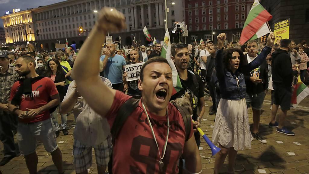 Zwei Monate Proteste in Bulgarien: Regierungschef Borissow bleibt