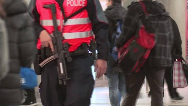 Polizeipräsenz in Bern ist immer noch aktuell