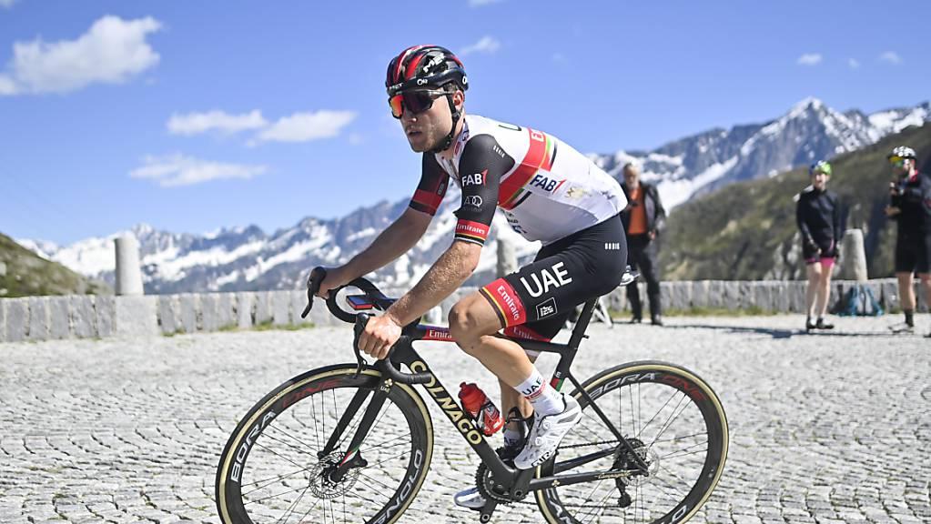 Marc Hirschi an der diesjährigen Tour de Suisse.