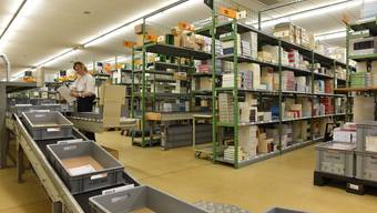 Zu Besuch im Schweizer Buchzentrum in Hägendorf