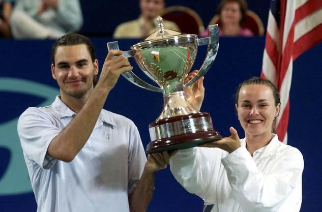 Vor mehr als zehn Jahren gewannen sie den Hopman-Cup - Jetzt greifen Martina Hingis und Roger Federer nach Olympia-Gold in Rio.