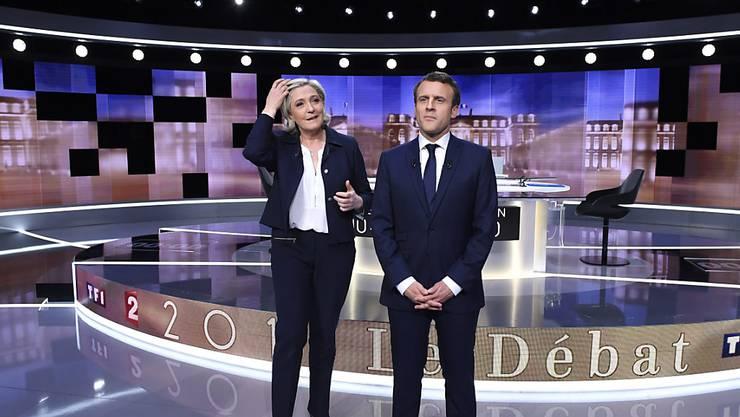 Die beiden Präsidentschaftsanwärter gingen im letzten TV-Duell vor der Stichwahl nicht zimperlich miteinander um.