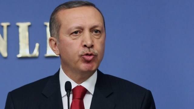 Vorwürfe an Frankreich: Der türkische Premier Erdogan
