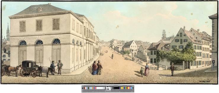 In diesem Jahr wurde das Stadtcasino am Steinenberg eröffnet. Entworfen wurde der Bau vom Architekten Melchior Berri. In der Folge kam das Musikleben der Stadt in Schwung. Berühmte Musikerinnen und Musiker wie Clara Schumann, Franz Liszt, Anton Rubinstein oder Johannes Brahms traten auf. Doch bald erwies sich der Saal als zu klein.