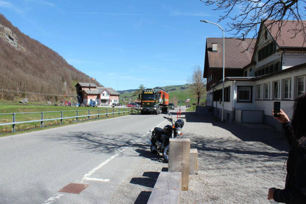 Alte Trogenerbahn wird Beiz (© FM1Today/Dario Brazerol)