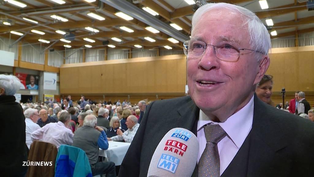 SVP-Präsidenten-Nachfolge: Blocher ausnahmsweise schweigsam