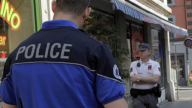 300 Personen wurden in einer Woche von der Genfer Polizei kontrolliert