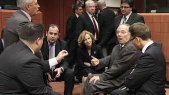 Griechenland: Wieder einmal Thema der Euro-Finanzminister (Archiv)
