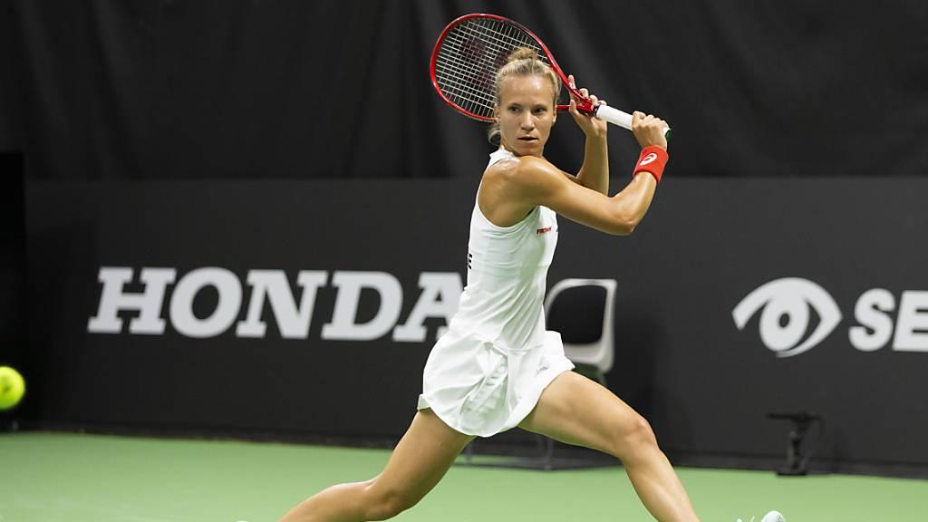 Viktorija Golubic feierte in Biel ihren dritten Schweizer Meistertitel.