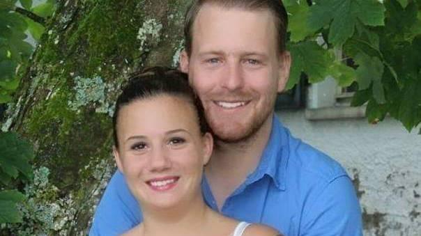 Tamara Bischof und Martin Amhof aus Altishofen