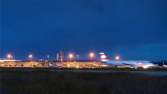 Die Beschwerden aus der Bevölkerung betreffen vor allem die verspäteten Flüge nach 23 Uhr (Archivbild)
