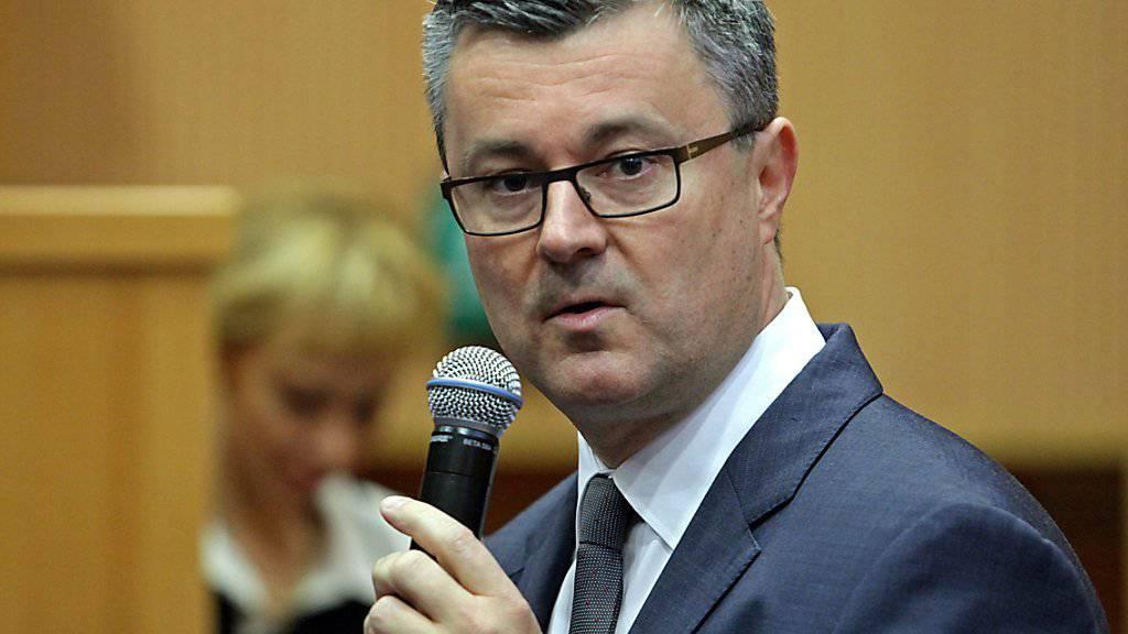 Die grosse Regierungspartei HDZ hat dem parteilosen Regierungschef Tihomir Oreskovic die Unterstützung entzogen.
