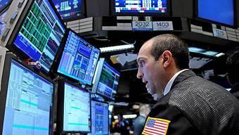 Börsenschluss in New York sehr tief