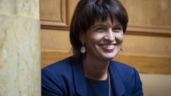 Die Presse hat sich in ihren Kommentaren zum Rücktritt von Doris Leuthard sehr positiv über ihren Instinkt für Mehrheiten geäussert.
