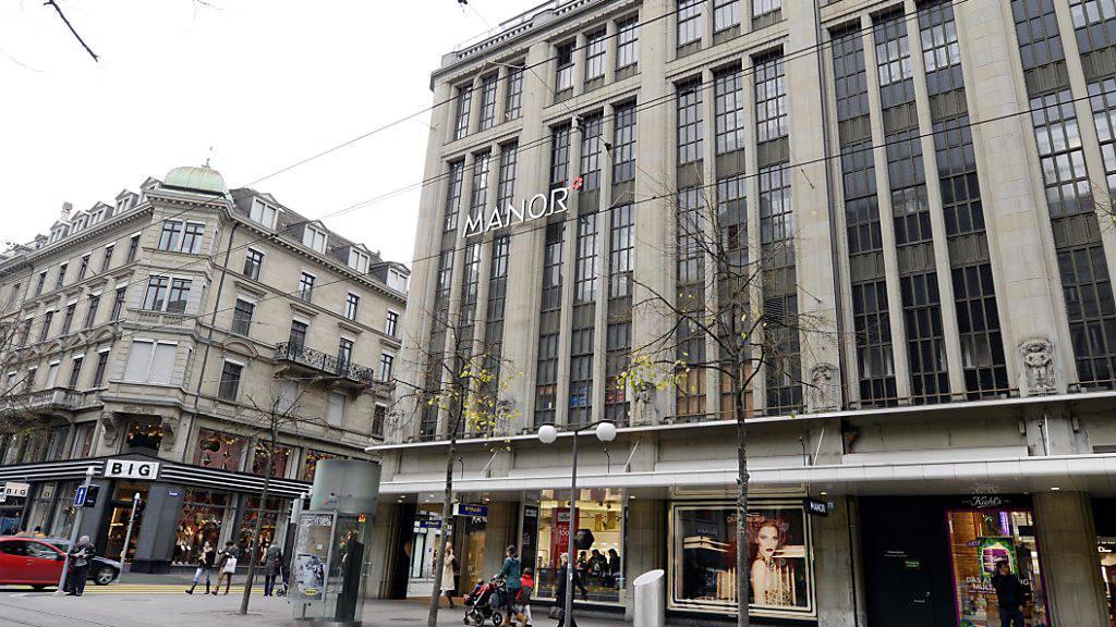 Manor schliesst Warenhaus an Bahnhofstrasse