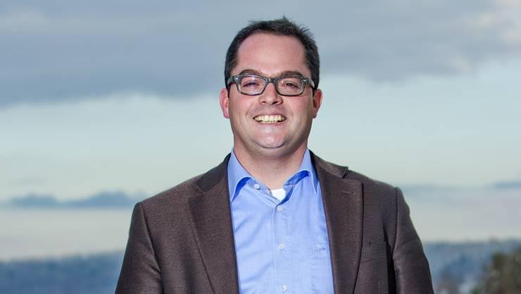 FDP-Stadtammannkandidat Roger Huber: «Hier oben auf der Baldegg spüre ich meine Wurzeln.» Emanuel Freudiger
