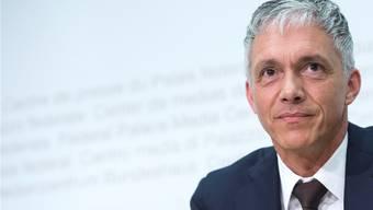 Bundesanwalt Michael Lauber hat den leitenden Staatsanwalt Olivier Thormann freigestellt.