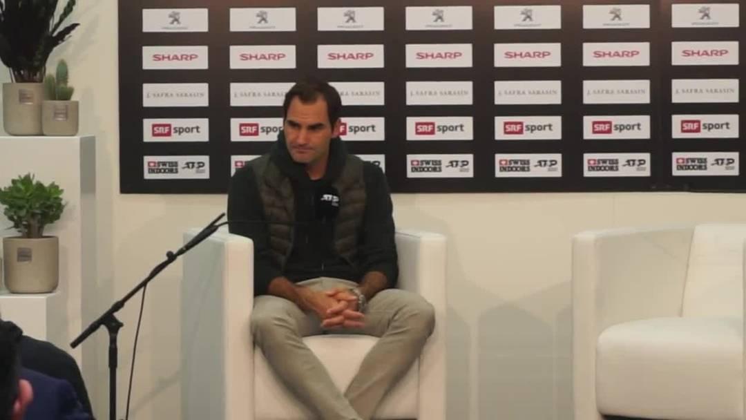 Federer PK 1. Runde III über Saisonschlussspurt